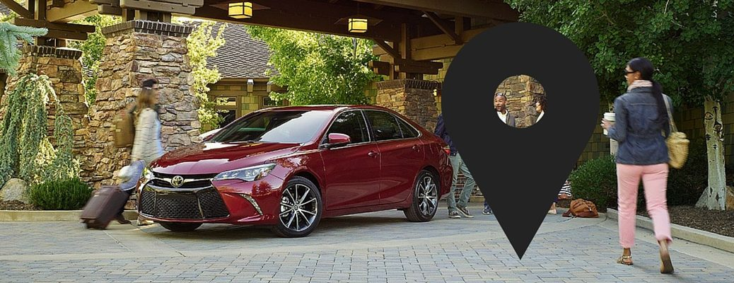 how to register home destination in 2017 Toyota Camry