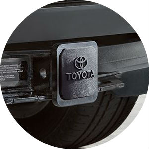 2016 Toyota Tundra integrated towing hitch receiver