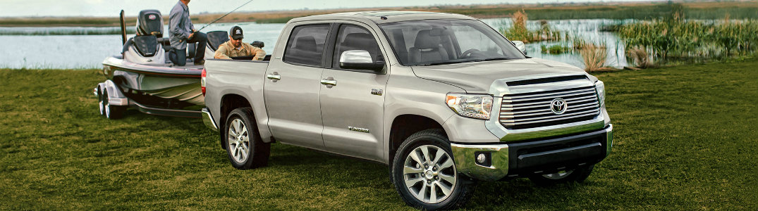 2016 Toyota Tundra towing features