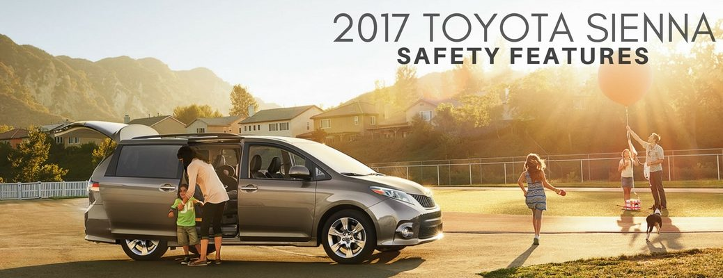 safety features in 2017 Toyota Sienna