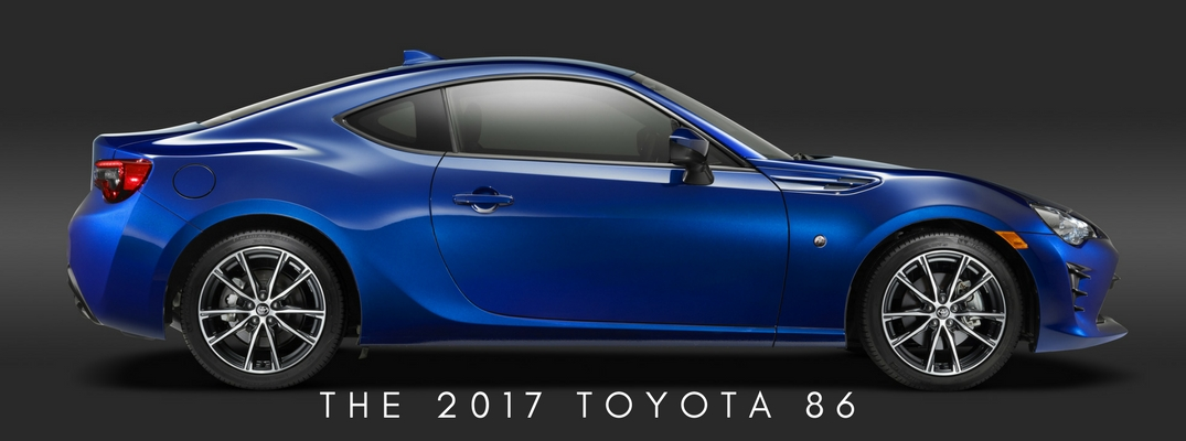 When will the 2017 Toyota 86 be available?