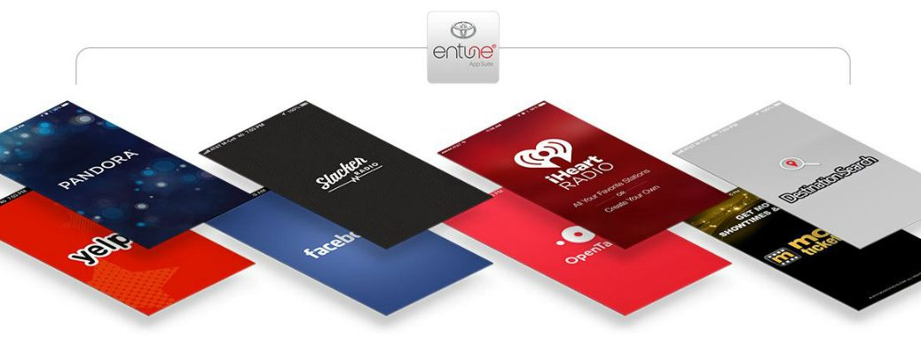 what's included with Toyota Entune App Suite