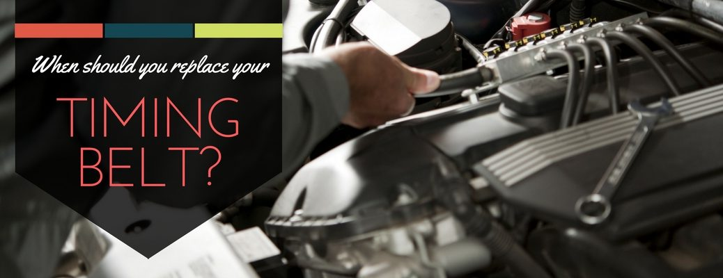 how often should you replace your car's timing belt