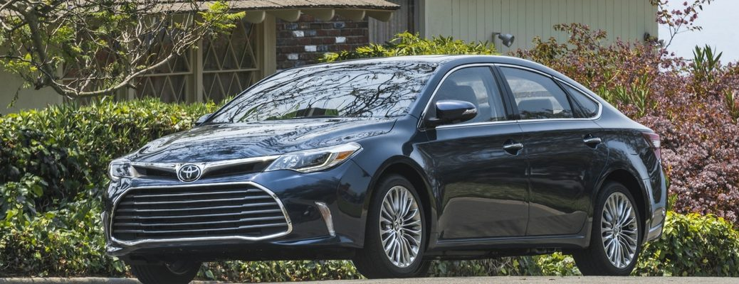new features in 2017 Toyota Avalon