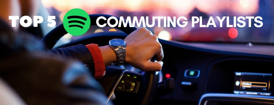 Top 5 Spotify playlists for your commute