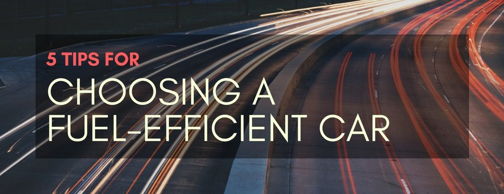 how to choose the most fuel-efficient vehicle