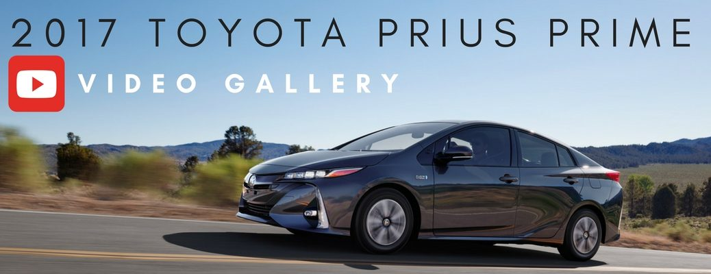 2017 Toyota Prius Prime video gallery