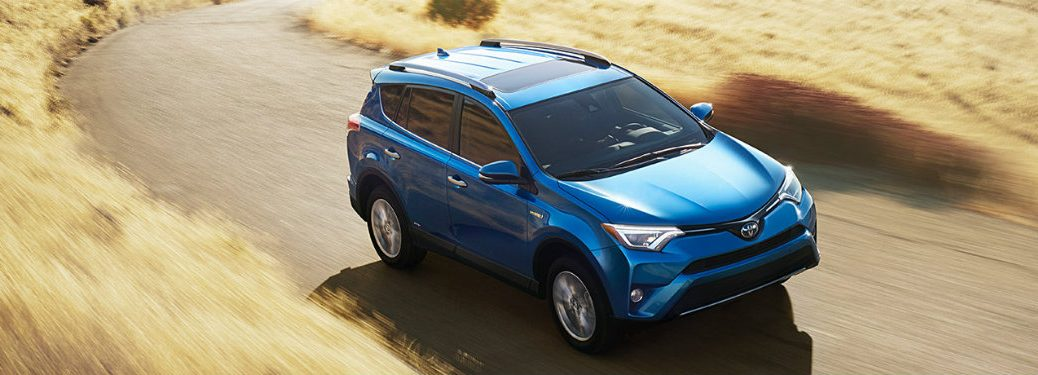 What is new on the 2017 Toyota RAV4?