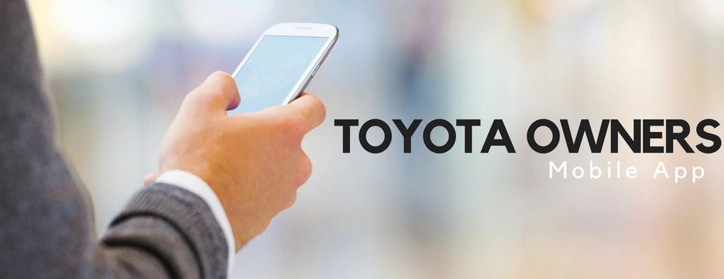 how to use Toyota Owners mobile app