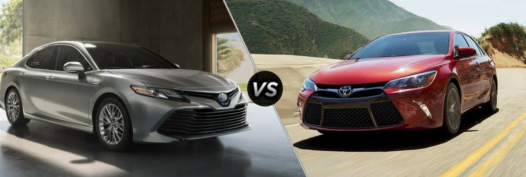 How does the 2018 Camry compare to the 2017 Camry?