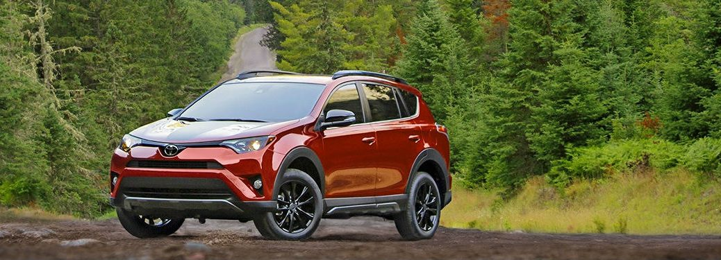 2018 Toyota RAV4 Adventure in Ruby Flare Pearl