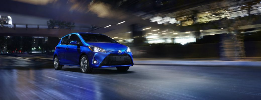 2018 vs 2017 Toyota Yaris