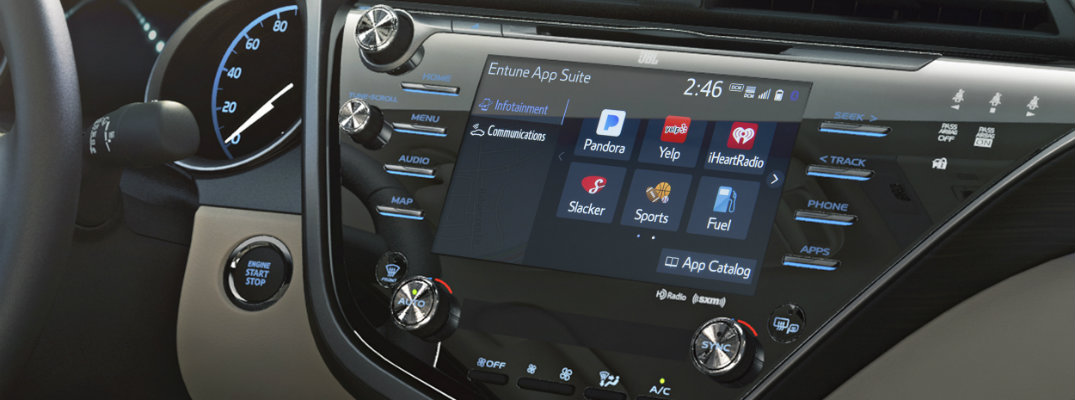 What features are included with Toyota Entune 3.0?