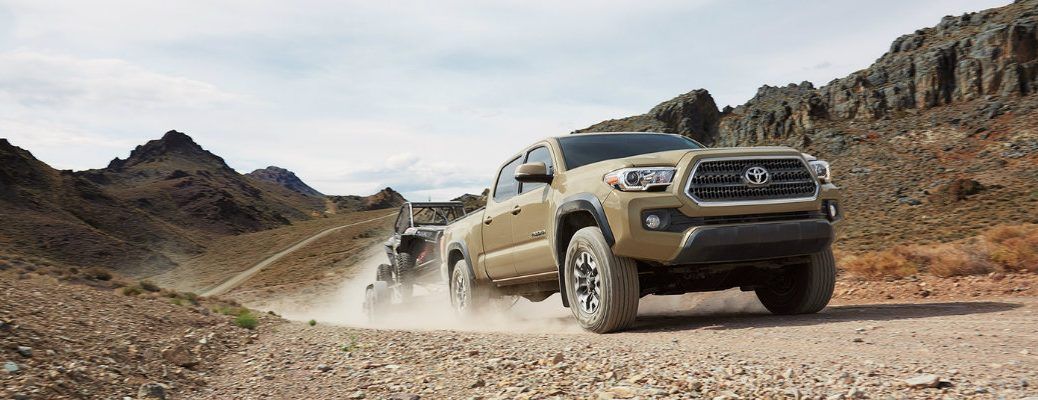 what is the towing capacity of the 2017 toyota tacoma
