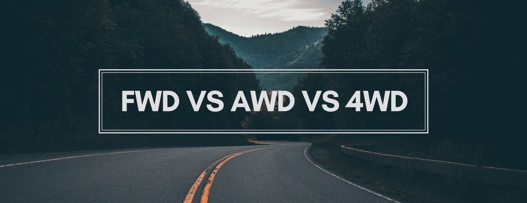differences between FWD, AWD, 4WD