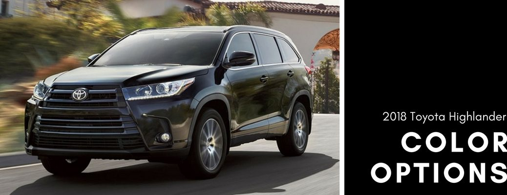 gray-2018-Toyota-Highlander-with-color-options-text