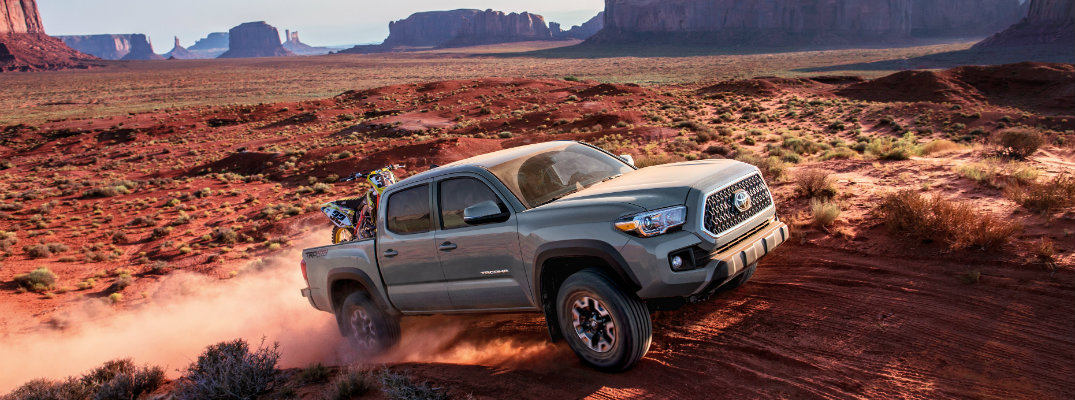 New features and design of the 2018 Toyota Tacoma