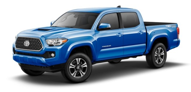 2018-Toyota-Tacoma-in-Blazing-Blue-Pearl