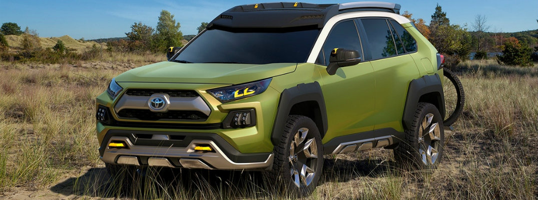 What is the Future Toyota Adventure Concept?