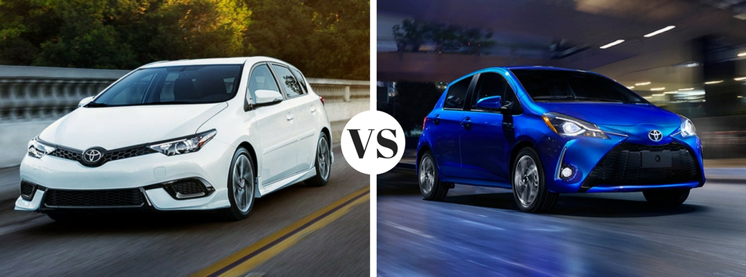 What's the difference between the Toyota Corolla iM and Yaris?