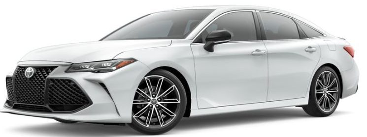 2019-Toyota-Avalon-in-Wind-Chill-Pearl-color