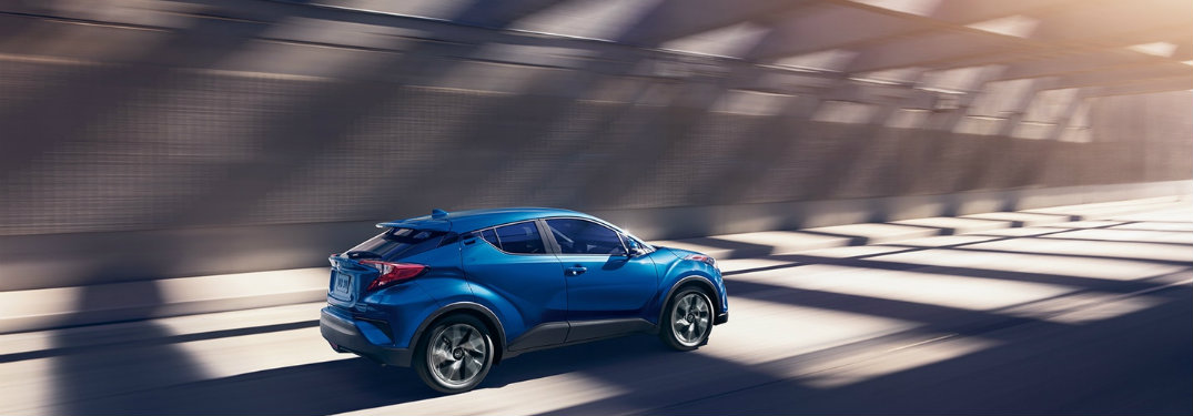 Does the 2018 Toyota C-HR come with all-wheel drive?