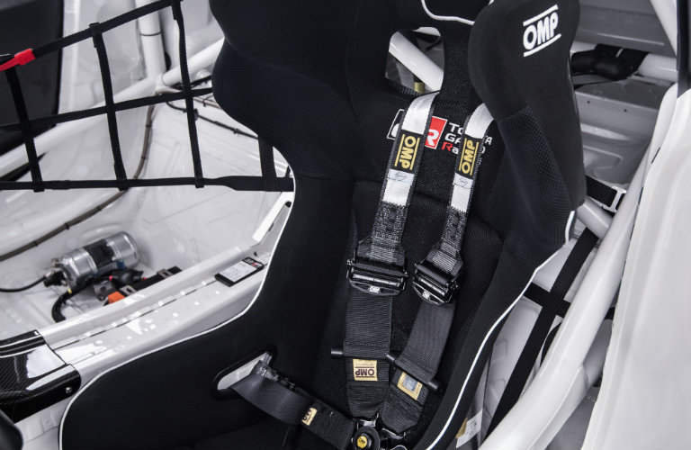 Toyota-GR-Supra-Racing-Concept-drivers-seat-with-racing-safety-harness