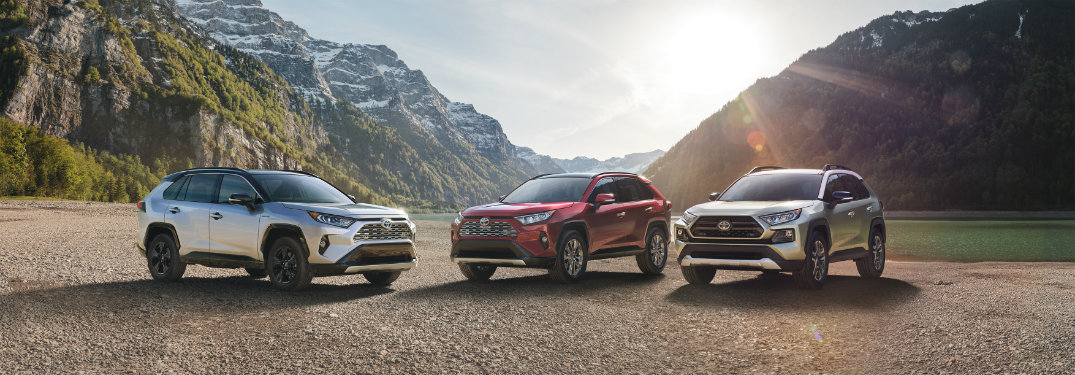 Fresh, sporty looks abound on the all-new 2019 Toyota RAV4