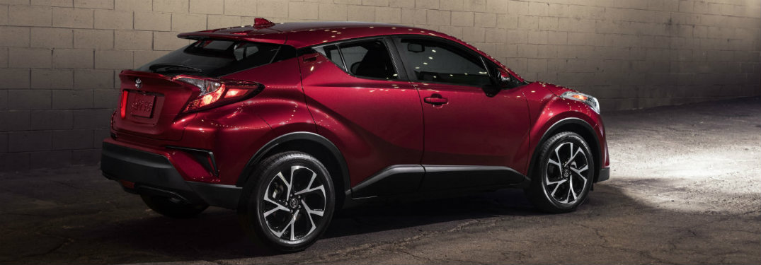What's the difference between 2019 Toyota C-HR trims?