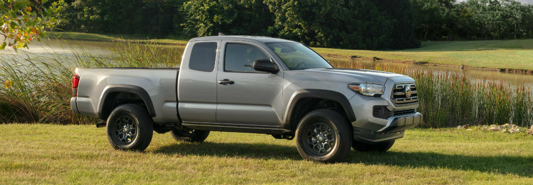 What's included with the 2019 Toyota Tacoma SX Package?
