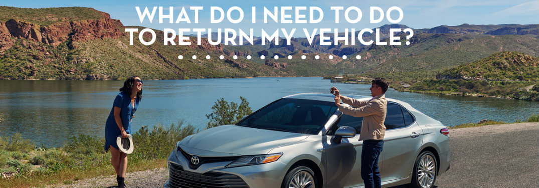 Where to return a Toyota lease in Vacaville, CA