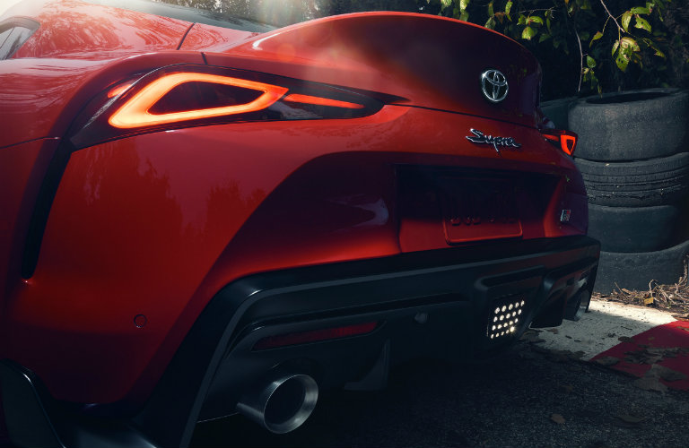 2020-Toyota-Supra-in-Renaissance-Red-2.0-close-up-of-back-end