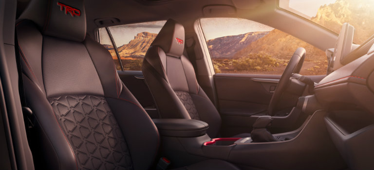 front-seats-with-red-stitching-inside-2020-Toyota-RAV4-TRD-Off-Road