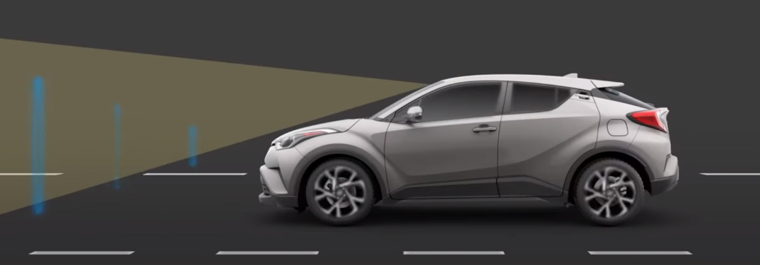 How the Toyota Safety Sense Pre-Collision System Works