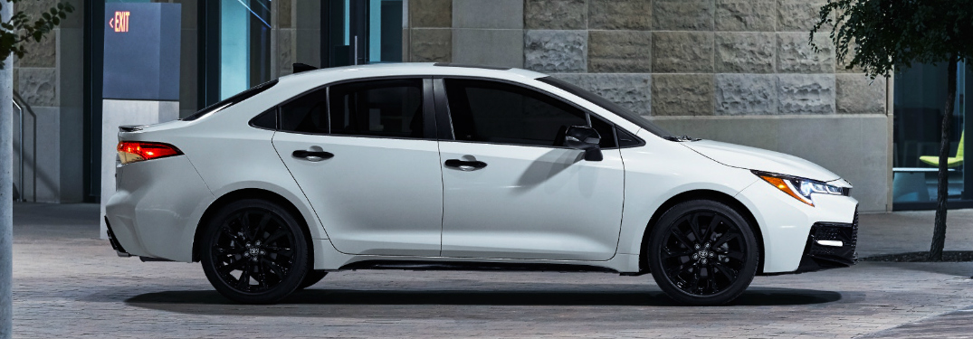 The 2020 Toyota Corolla Sedan and Hatchback Get the Nightshade Treatment