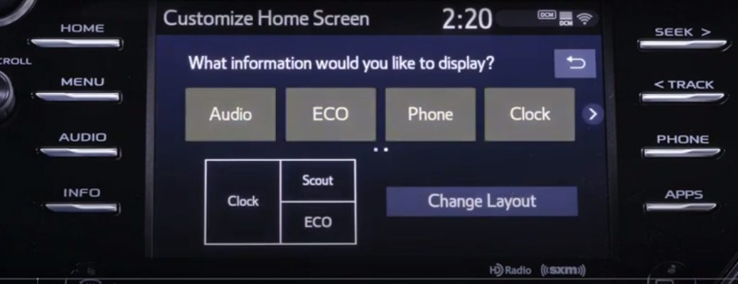 Touchscreen for the Toyota Entune 3.0 Multimedia System