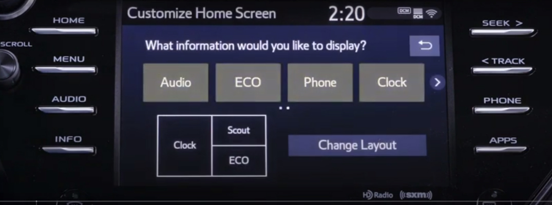 Can I customize the Toyota Entune 3.0 multimedia system?