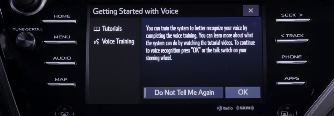 How to Use Voice Recognition with the Toyota Entune 3.0 Multimedia System
