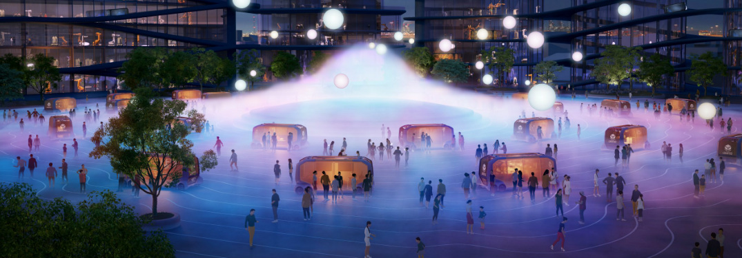 What is the Toyota Woven City of the Future?