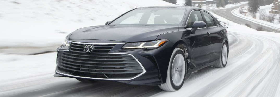 Can I get an all-wheel drive system for the 2020 Toyota Avalon?