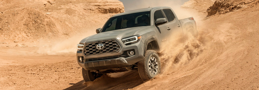 The 2020 Toyota Tacoma Dominates the Midsize Pickup Truck Competition