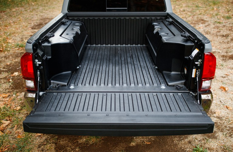 Pickup bed in 2021 Toyota Tacoma