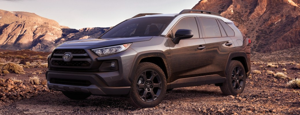 Difference between the TRD Off-Road and Adventure RAV4 trim levels