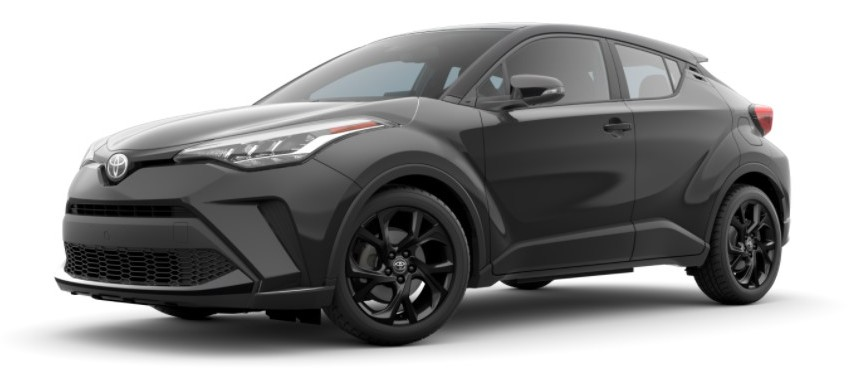 2021 Toyota C-HR Magnetic gray metallic with black roof