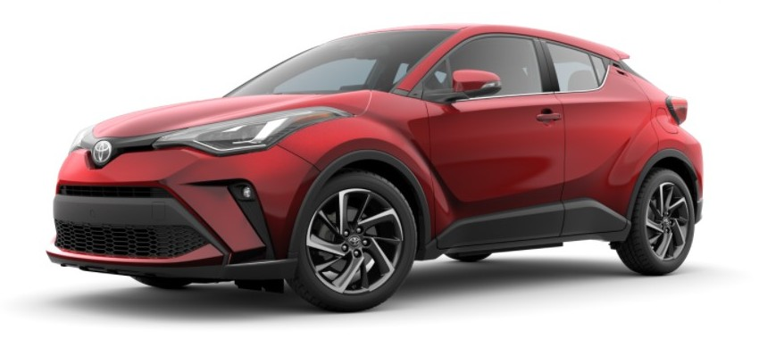 2021 Toyota C-HR supersonic red