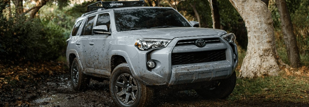 2021 Toyota 4Runner SUV is available in 10 different exterior paint color options