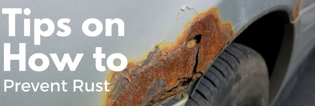 tips on how to prevent rust