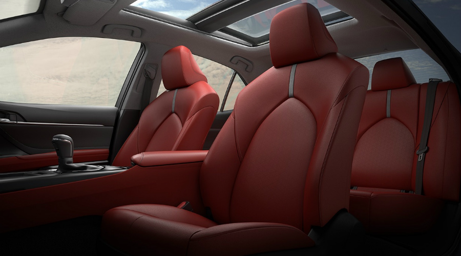 seating in the 2018 Toyota Camry