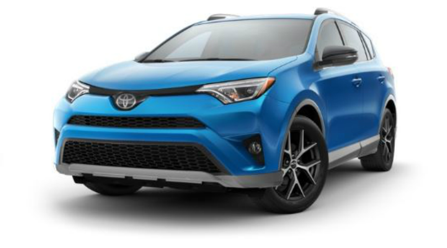 2017 Toyota RAV4 in S-Code Electric Storm Blue