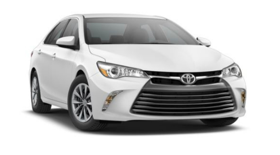 2017 Toyota Camry in Super White